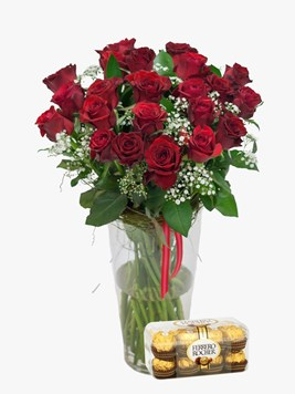 Sunninghill flower market flowers gifts for all occasions red rose million stars with ferrero rocher mightylinksfo